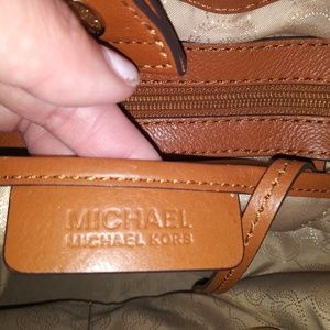 michael kors draw string handbag